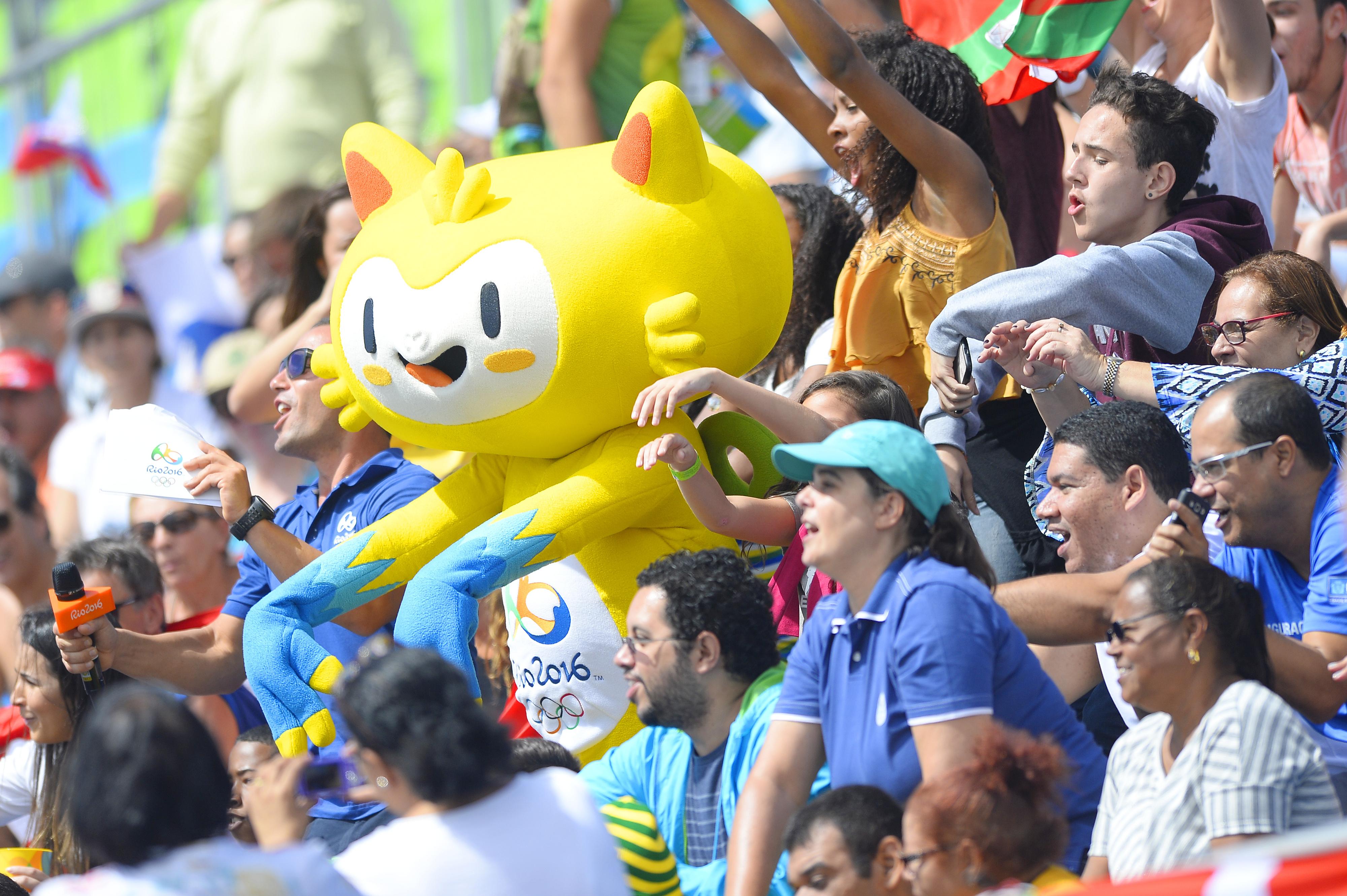 Atmosféra na olympiáde