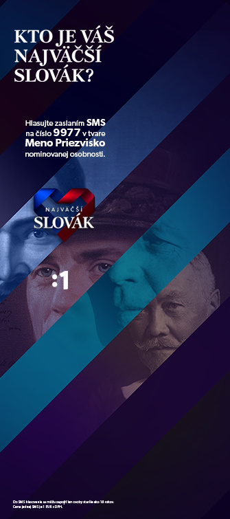 Najväčší Slovák - odkaz na Facebook