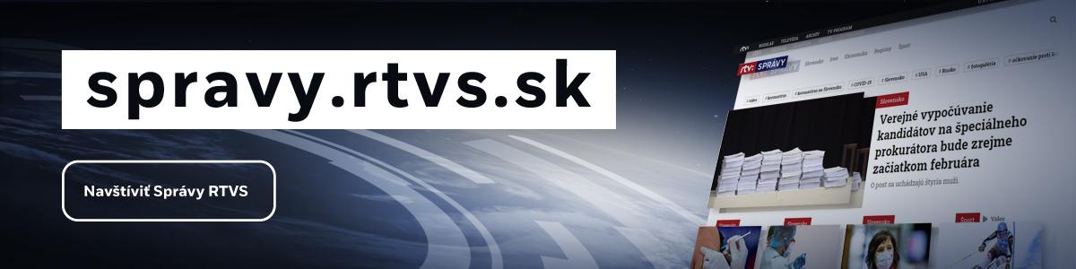 spravodajský web RTVS