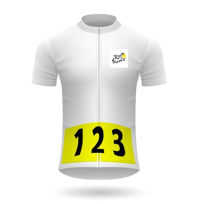 Tímová súťaž dres Tour de France