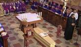 Pohreb kardinála Jána Chryzostoma Korca