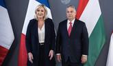 Orbánnál járt látogatóban a francia szélsőjobb vezére