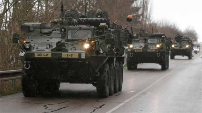 Transferts d'équipements militaires à travers la Slovaquie