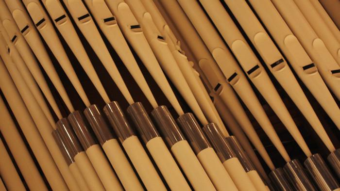 Prvý organový koncert pod pyramídou