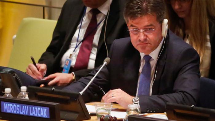 Entrevista a Miroslav Lajčák, candidato eslovaco para cargo de secretario general de NU
