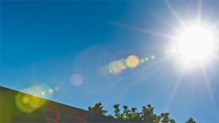 Warns of heatwave over upcoming weekend