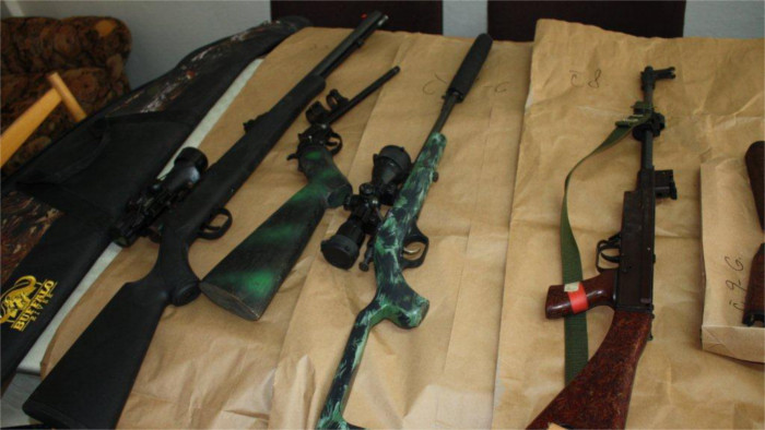 Slovaks hand over 1,600 guns