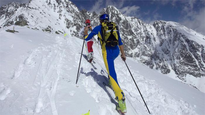 Die Geschichte des Skibergsteigens in der Slowakei