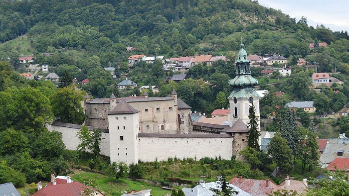 Banská Štiavnica runs for top film location