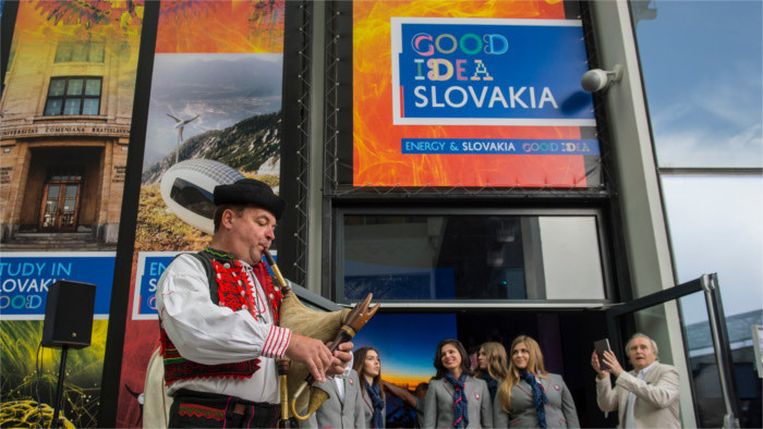 Slovak day at EXPO 2017 in Astana