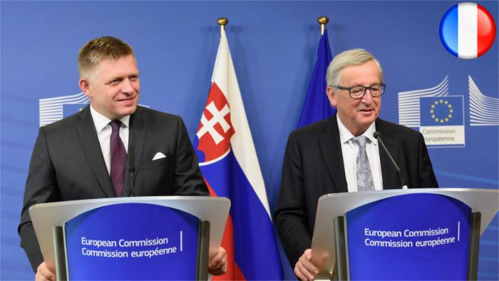 JUNCKER : La Slovaquie, noyau dur de l'Union