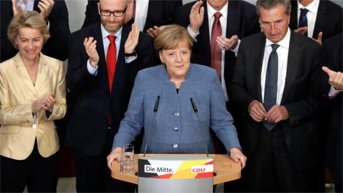 Отклики словацких политиков на итоги выборов в Германии