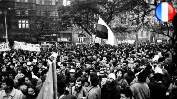 28e anniversaire de la Révolution de Velours dans l'ex-Tchécoslovaquie, qui sera fêté demain vendredi 17 novembre 2017