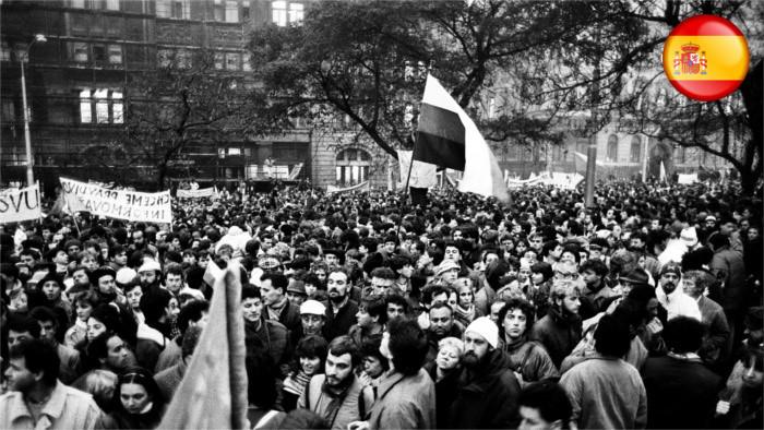 Mañana celebraremos el aniversario 28 de la Revolución de Terciopelo