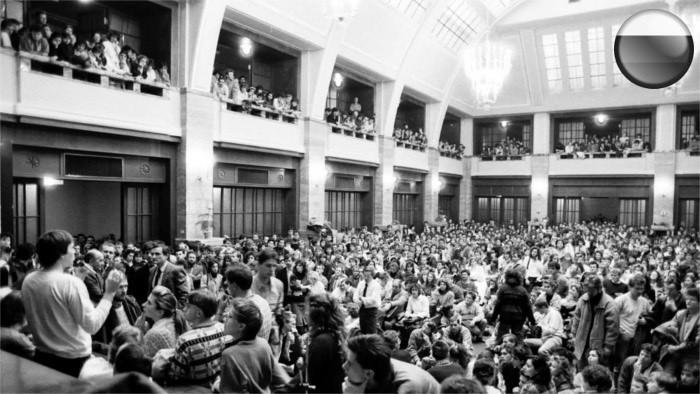 Словацкие студенты - первопроходцы «бархатной революции»