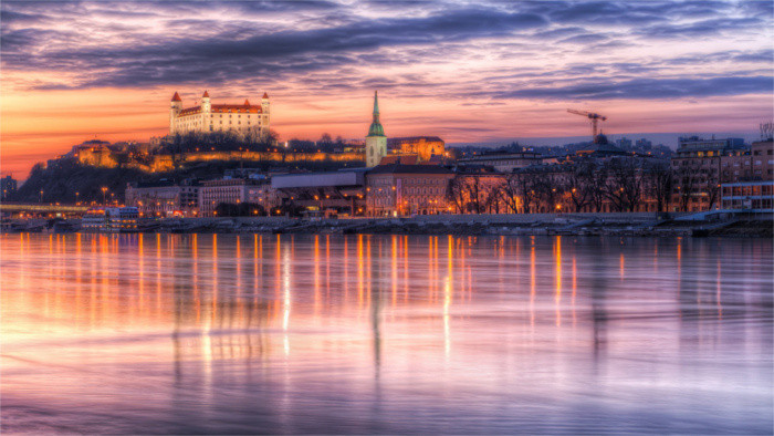 Новое видео о Братиславе