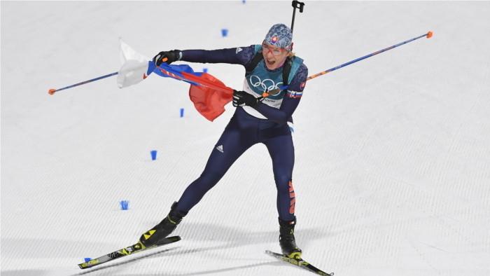 Словацкая биатлонистка А. Кузмина - олимпийская чемпионка Пхенчхана!