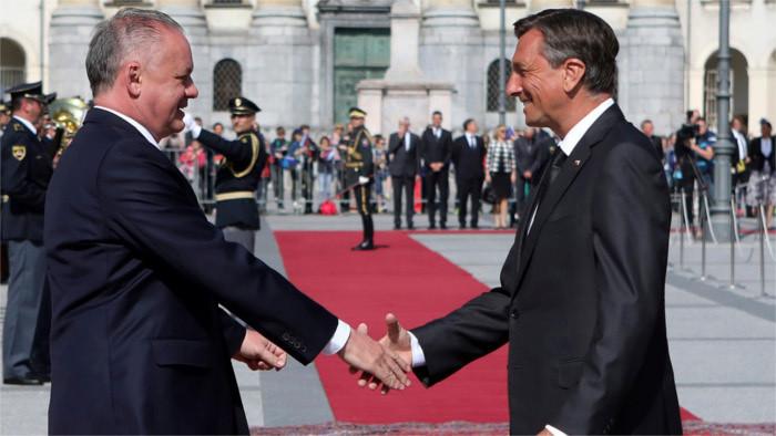 Le chef de l'Etat en visite officielle en Slovénie