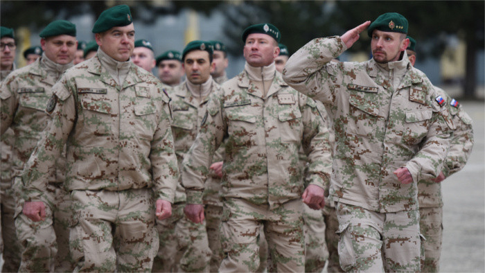 Slovak soldiers sent on foreign missions must be vaccinated against COVID-19