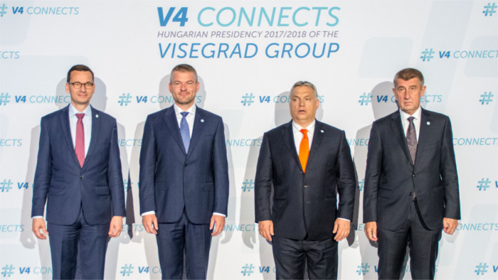 Migrants the topic for V4