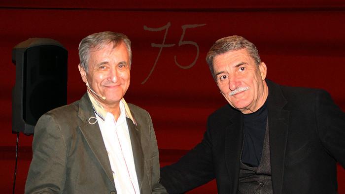 75. narodeniny Milana Markoviča a Martina Hubu