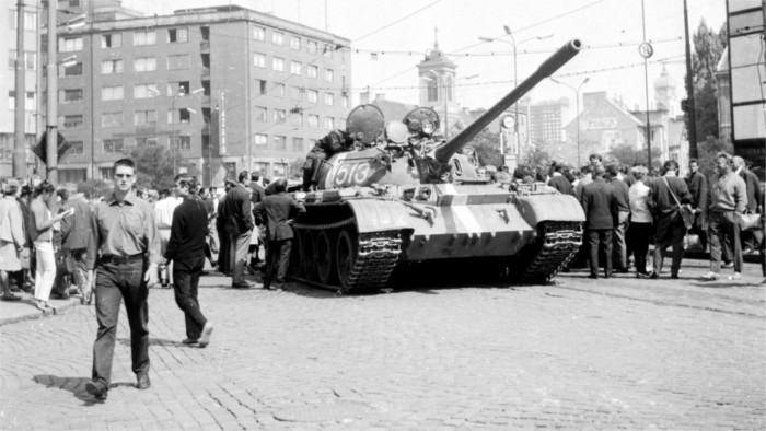Трагическая дата в истоии Чехо-Словакии