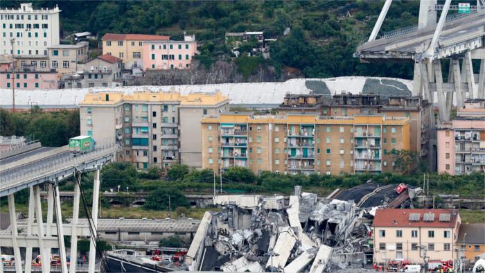 Entre las víctimas de la caída del puente de Génova no hay eslovacos
