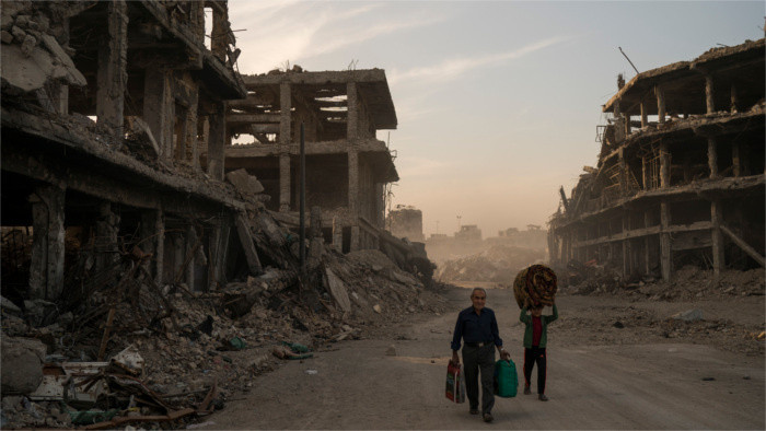 Humanitäre Hilfe für Irak