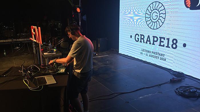 Rádio_FM na festivale Grape 2018