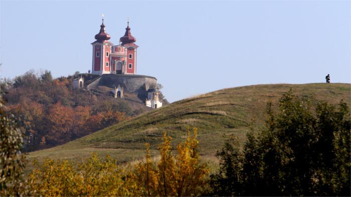 Kalvarienberg in Banská Štiavnica erneuert