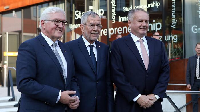 Drei Staatsoberhäupter für ein gemeinsames Europa