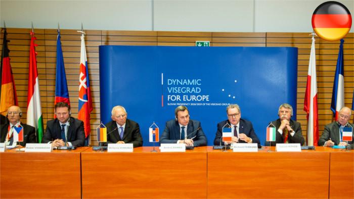 Treffen der Parlamentsschefs in Bratislava