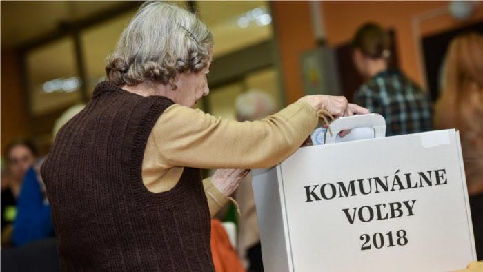 Ergebnisse der Kommunalwahlen in der Slowakei