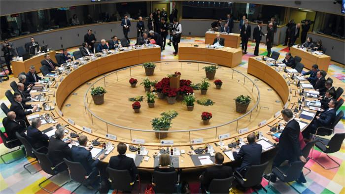 Dernier sommet de l'année du Conseil européen