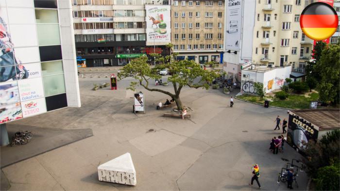 Zukunft des Kamenné námestie in Bratislava weiter ungewiss