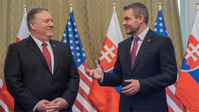 Pompeo: It's important to have strong ties