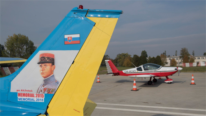 Slowakei gibt Flugkarte zu Ehren von Štefánik heraus