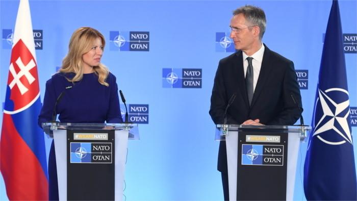 Slovakia clearly leaning towards NATO