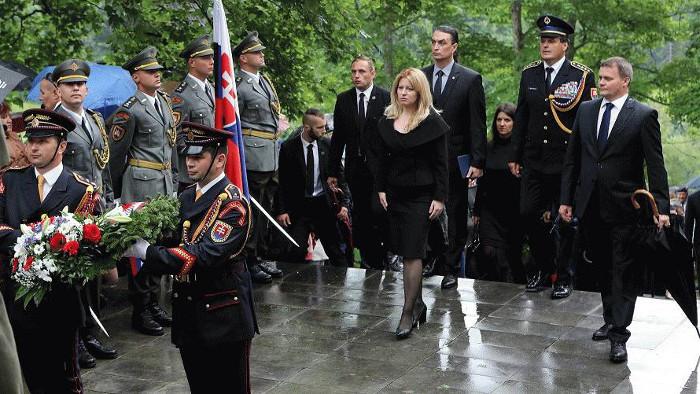 Präsidentin Čaputová: Kalište als Mahnung