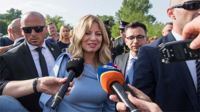 "Nueva presidenta Čaputová: ""No he llegado para gobernar, sino para servir a los ciudadanos"""