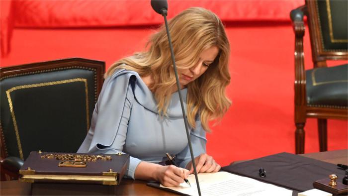 Inaugurácia prezidentky Zuzany Čaputovej