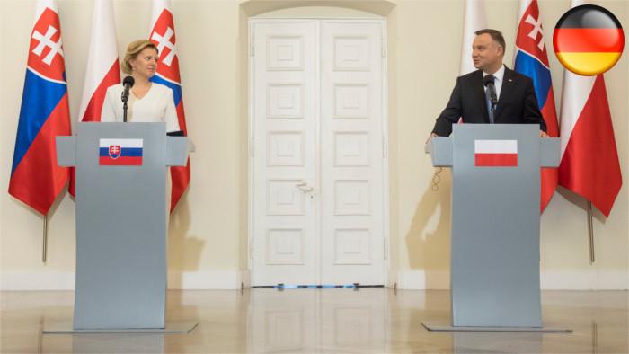 Čaputová: Slowakei ist das proeuropäischste Visegrád-Land