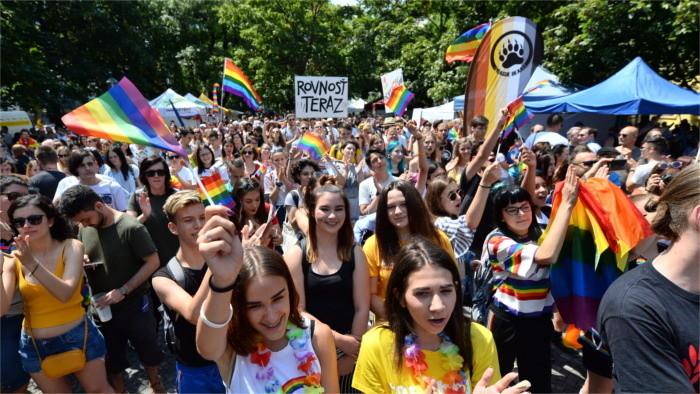 LGBTI : 36 ambassades soutiennent la PRIDE de Bratislava