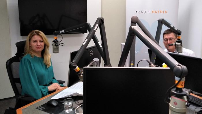 Rozhovor Rádia Patria s prezidentkou Z. Čaputovou