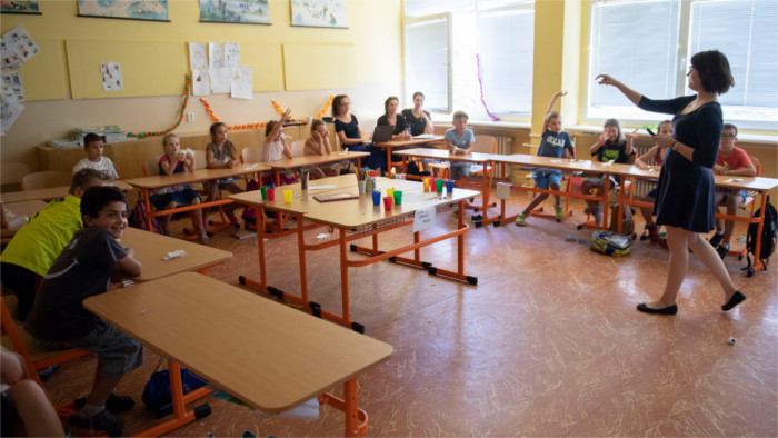 В Словакии не хватает учителей