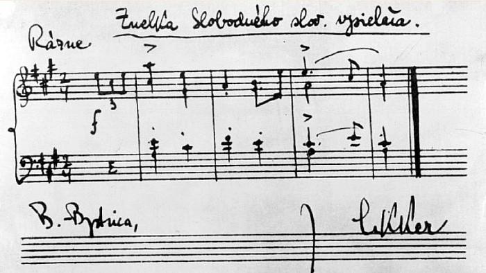 Jahrestag des Slowakischen Nationalaufstands 1944: Der Komponist Ján Cikker und der Partisanen-Sender