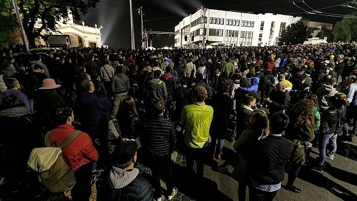 Tausende bei Protesten für eine gerechte Slowakei