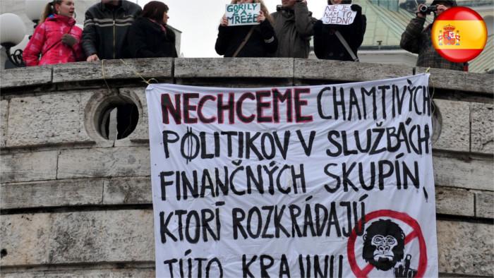 Gorila conmueve la sociedad eslovaca