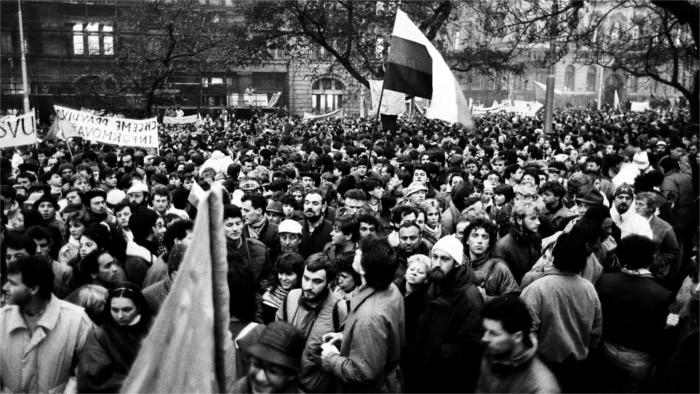 El trigésimo aniversario de la Revolución de Terciopelo