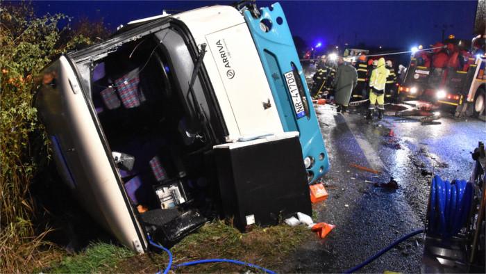 Schwerer Verkehrsunfall zwischen Nitra und Zlaté Moravce